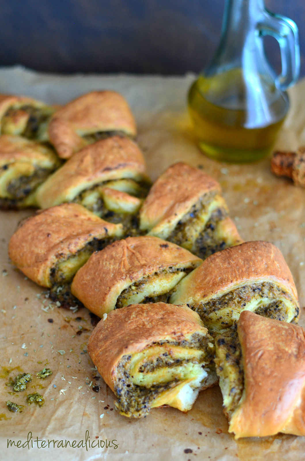 stuffed pull-apart bread roll 6
