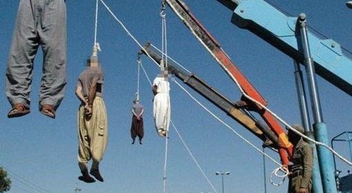 Obesení homosexuáli v Iráne