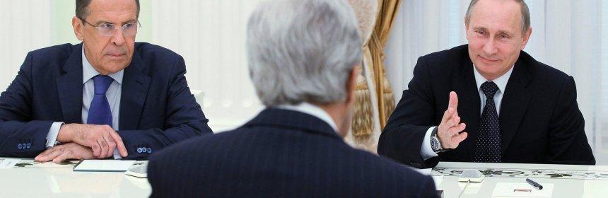 Lavrov Kerry Putin