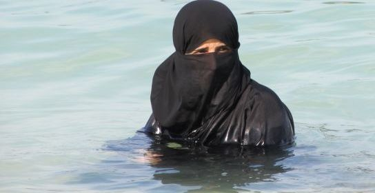 Arabka v mori