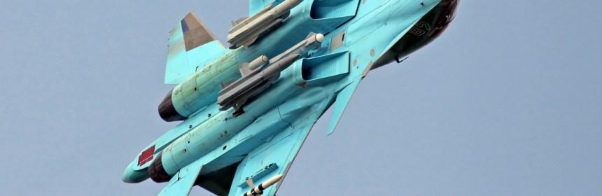 SU-34 s raketami