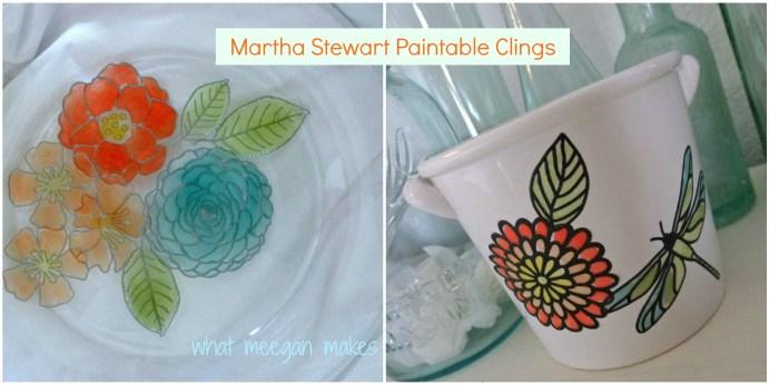 Martha Stewart Paintable Clings