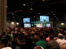 Annual Convention...aprox. 12,000 people in attendance. So much FUN!