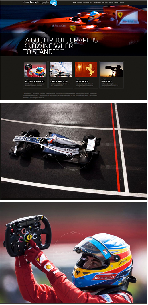 Darren Heath – Photographer. Formula One
