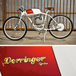Derringer Cycles :: D. McPherson. Que Bella!