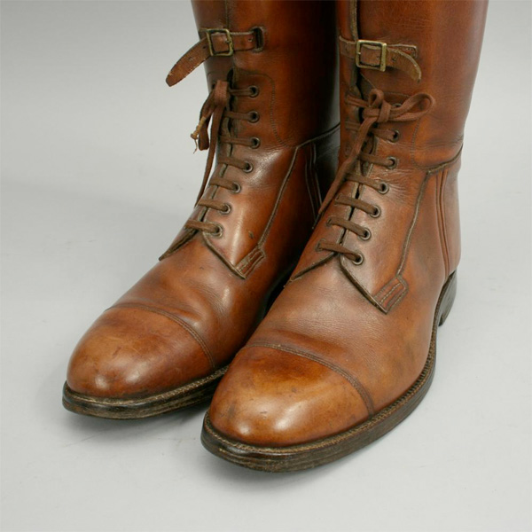 Leather Field Riding Boots