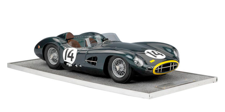 Model Of An Aston Martin DBR1