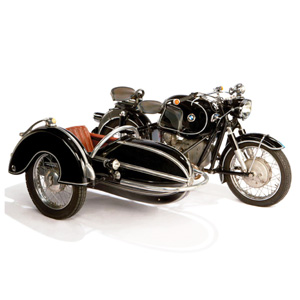 1958 BMW Motorcycle with Steib Sidecar :: Off The Wall