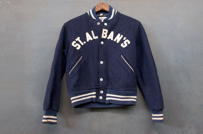 Mount St. Albans Private School Wool Jacket.