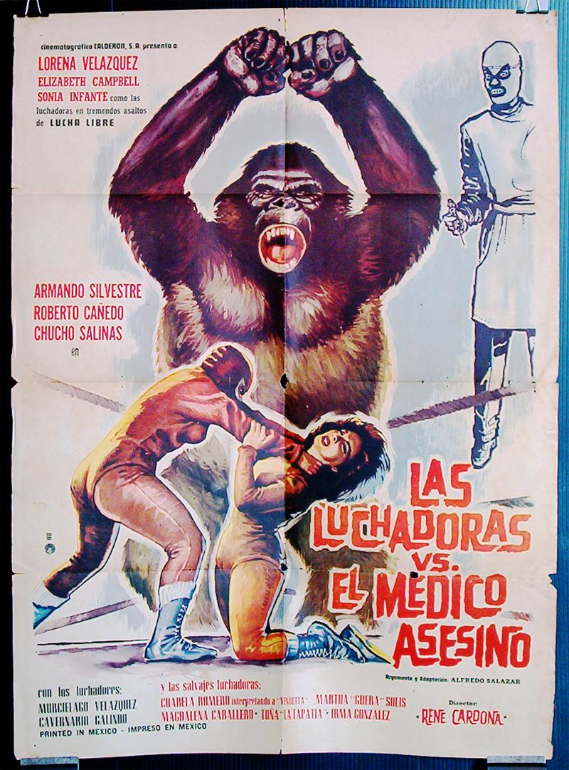 Luchadoras vs El Medico Asesino (1963) :: Posteropolis