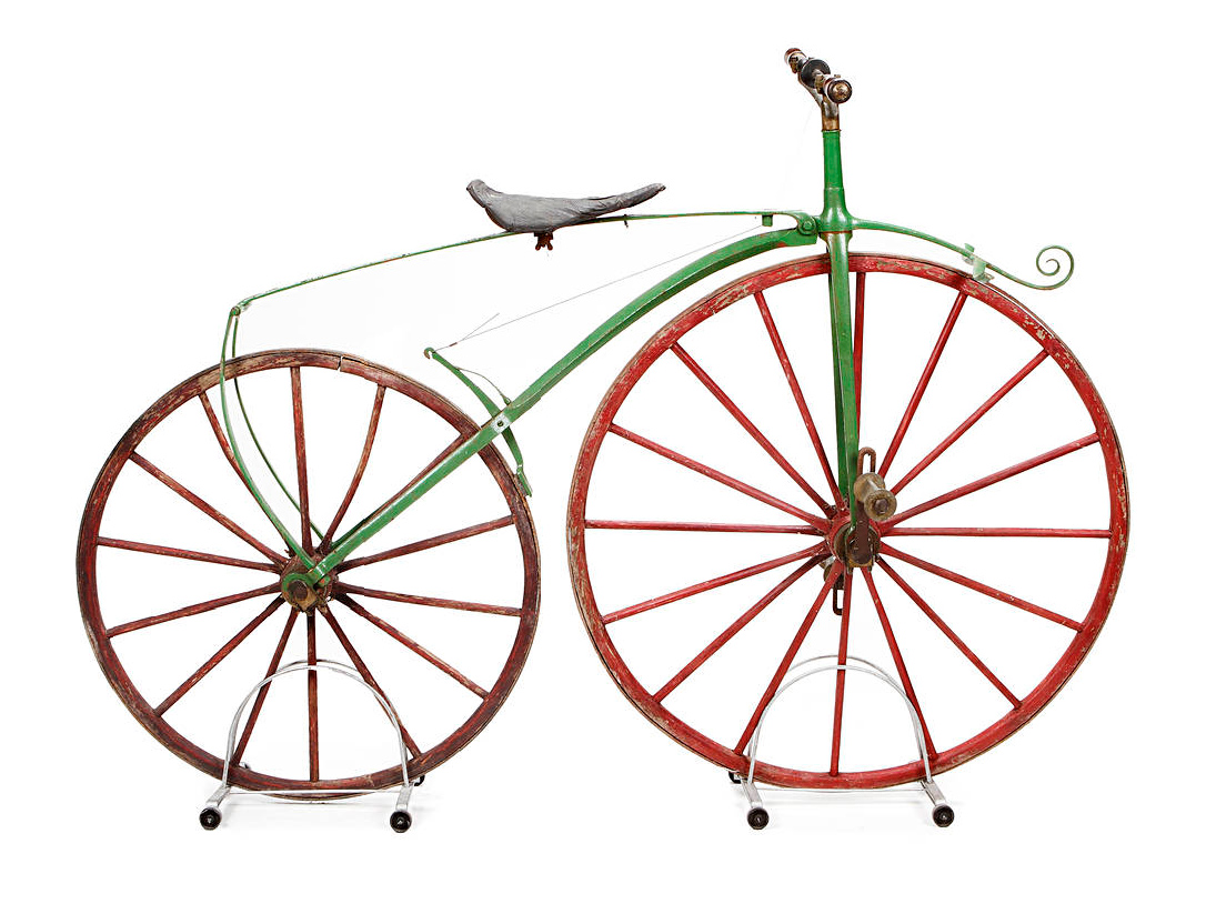 Michaux-Style Velocipede. Late 1860s :: Bonhams