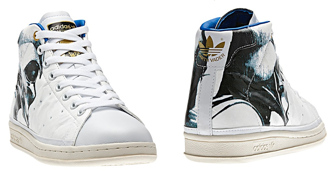 Star Wars Stan Smith 80s Mid Shoes    Adidas f532b641449b