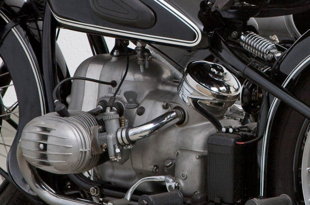 1953 BMW 494cc R51/3 & Steib Sidecar