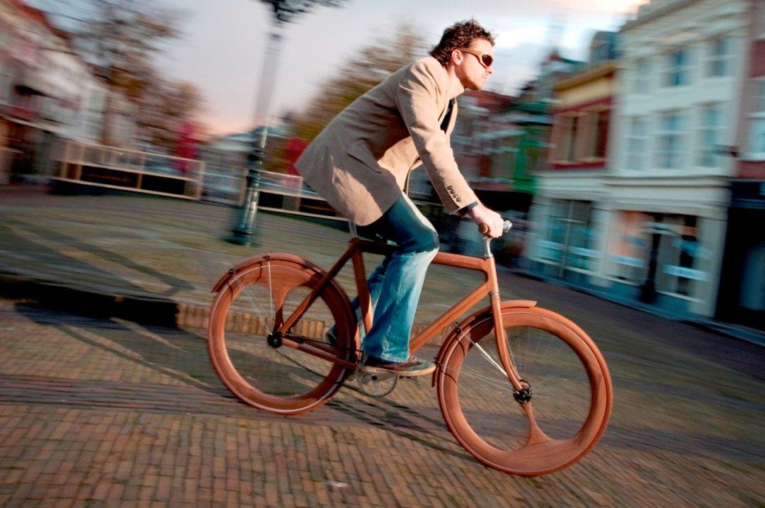 Wooden Bicycles By Jan Gunneweg