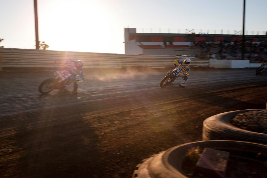Fred Joe :: Photographer :: Gene Romero's West Coast Flat Track Series