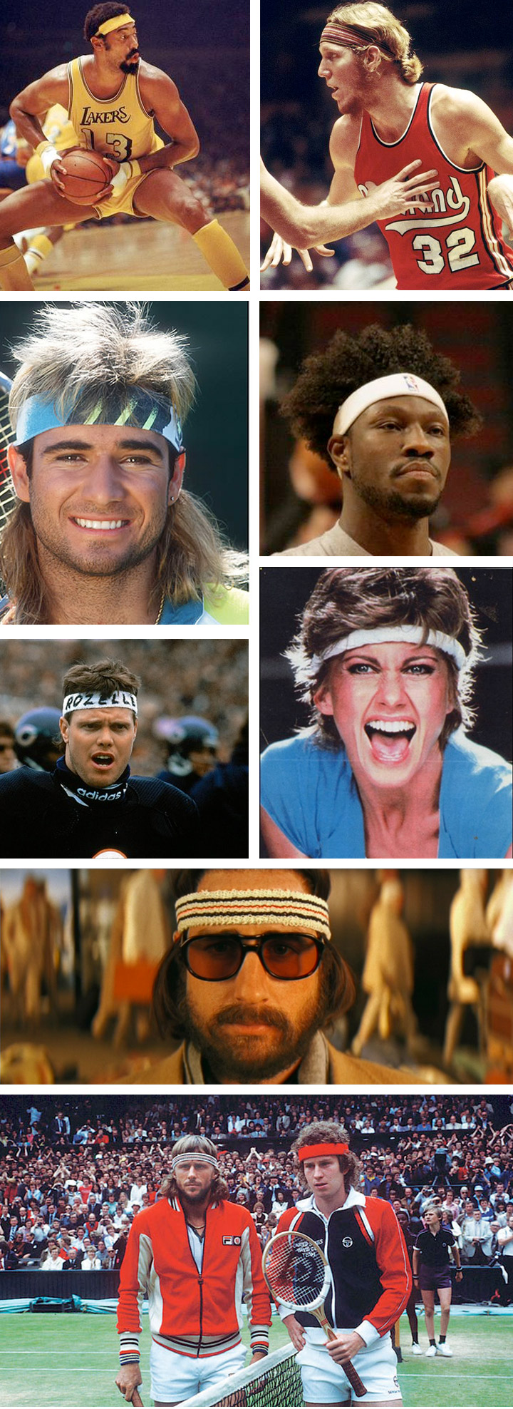 Headband Hall Of Fame :: MegaDeluxe Sports