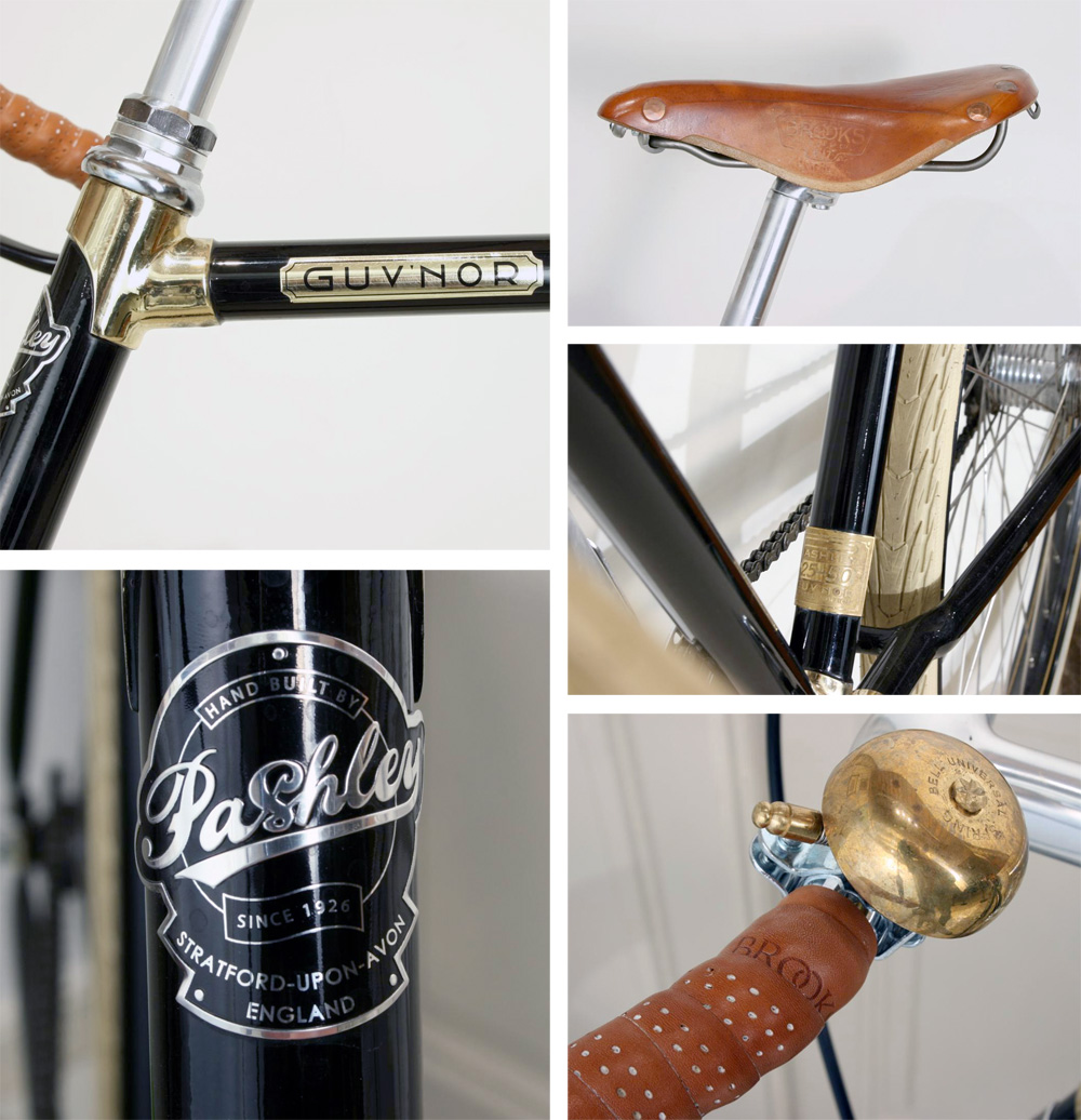 Limited Edition Pashley Guv'nor Four Bicycle :: Sport Antiques