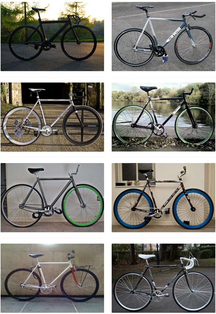 Deaf Pigeon :: All Fixed Gear All The Time