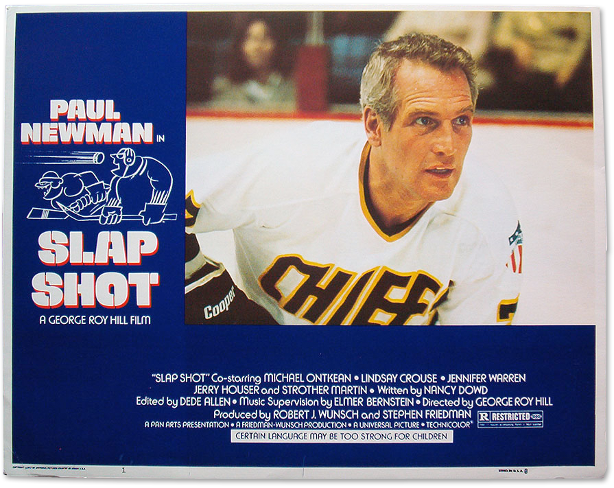 Slap Shot (1977) :: Lobby Card :: Posteropolis