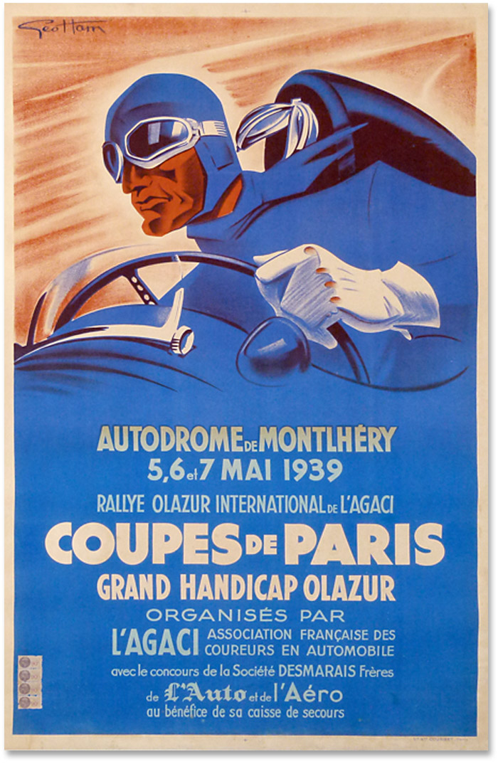 Geo Ham :: Coupes De Paris :: The AERO BUGATTI (1939)