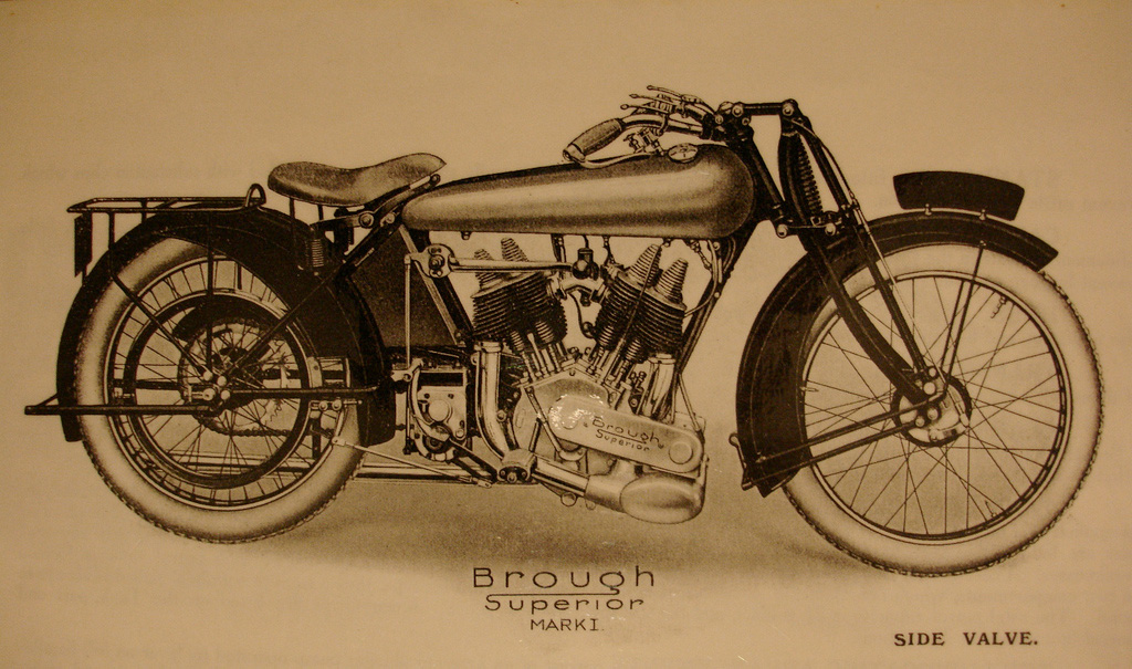 Brough Superior Mark I 1922-23