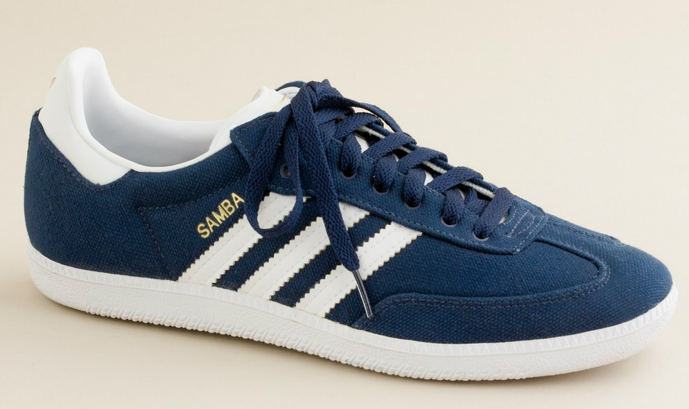 adidas Canvas Samba Sneakers (1)