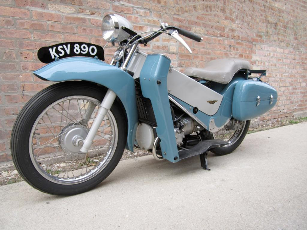 1957 Velocette LE 200 :: eBay Sale :: Throttle Yard (5)