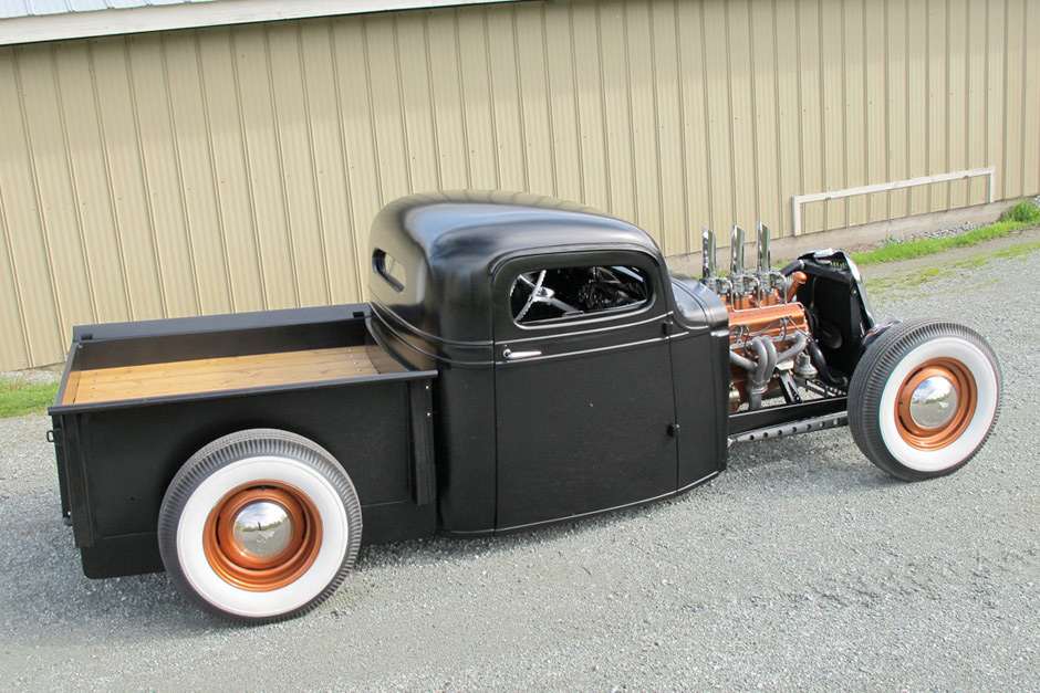 1936 chevrolet pickup hot rod spirited automobiles. Black Bedroom Furniture Sets. Home Design Ideas