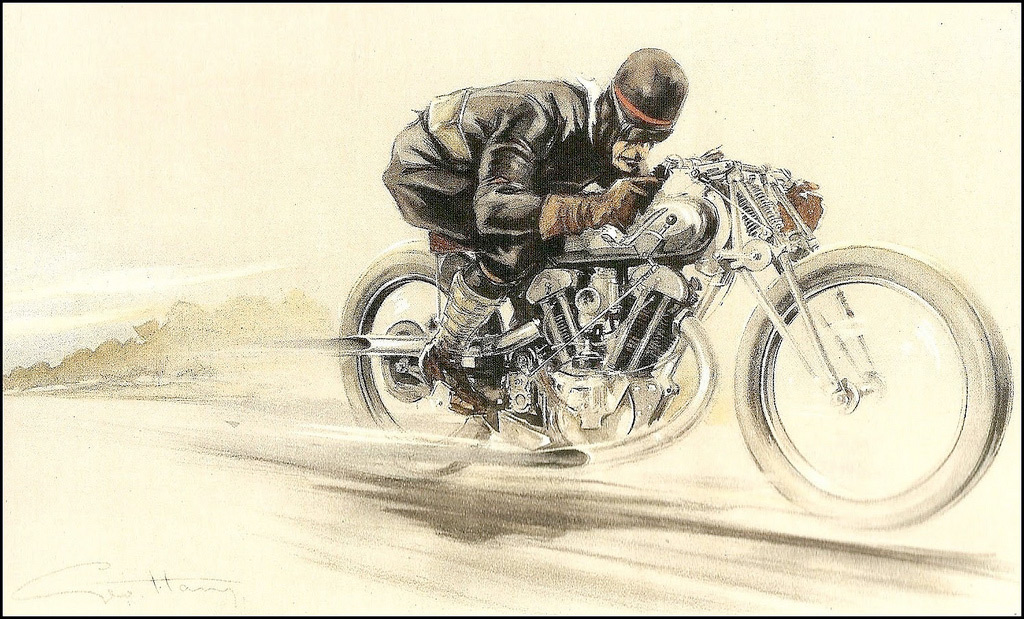 Brough Superior Posters :: By Géo Ham (1)