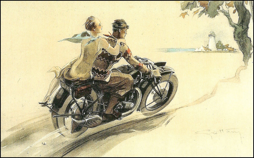 Brough Superior Posters :: By Géo Ham (4)