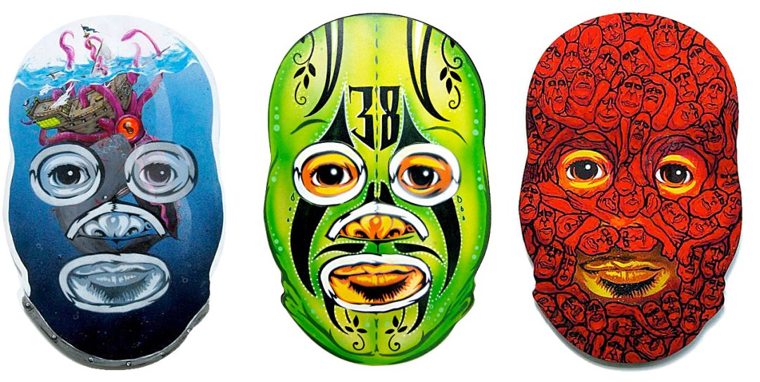 Luchador Collab-​o-​Mask – Part 2 :: Peat Wollaeger