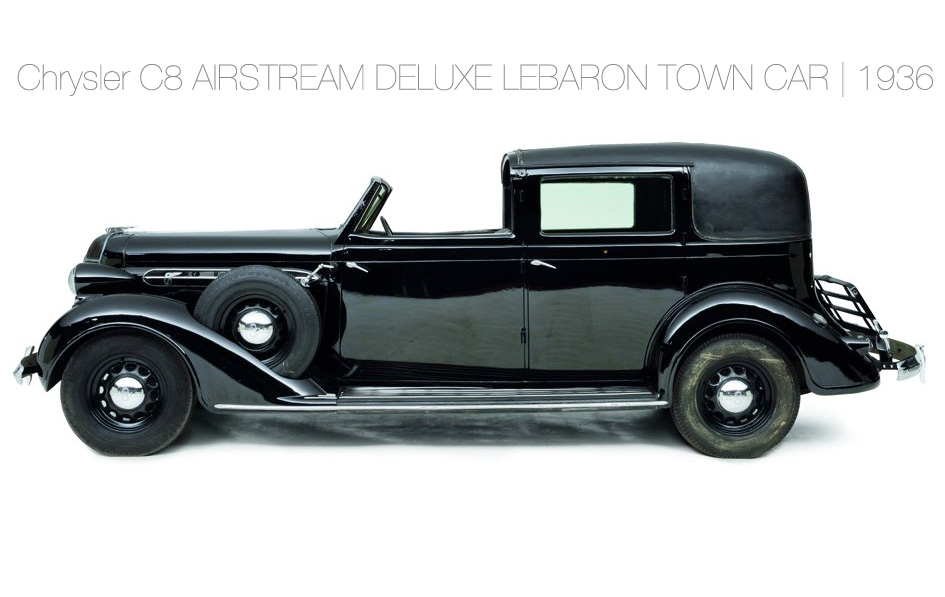 Chrysler C8 AIRSTREAM DELUXE LEBARON TOWN CAR | 1936