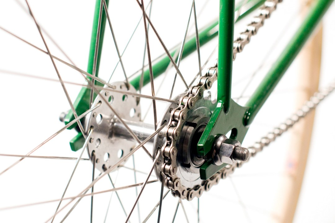 Vintage Track Bike :: Freddie Grubb Frame (4)