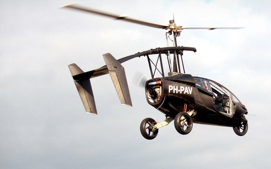 PAL-V :: Two Seat Hybrid Car and Gyroplane (1)
