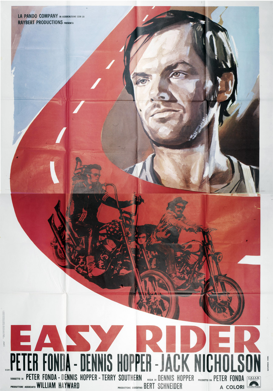 Original easy rider movie poster