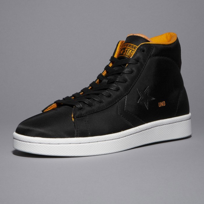 Undefeated + Converse Pro Leather Hi Black