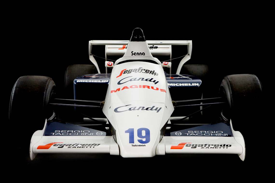 Senna's 1984 Toleman TG-184-2 :: Silverstone Auctions (1)