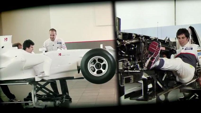 Sauber F1 Team :: Cutaway F1 Race Car