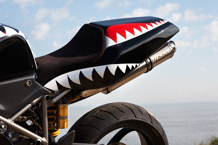 Shark Bite :: Ducati Race Bike :: Photo By Neil Bridge