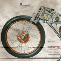 Chicara Nagata Motorcycle Posters