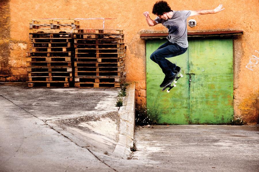 Javier Mendizabal. 360 Ollie. Andalusia