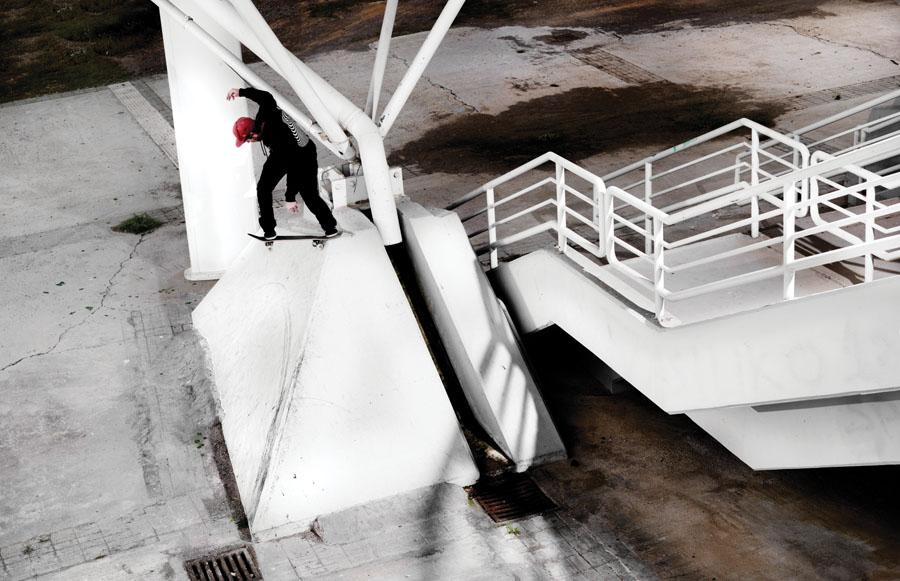 Silas Baxter-Neal. Backside Tailslide. Athens