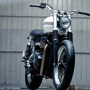 Kiddo Motors Triumph Thruxton :: via Bike EXIF