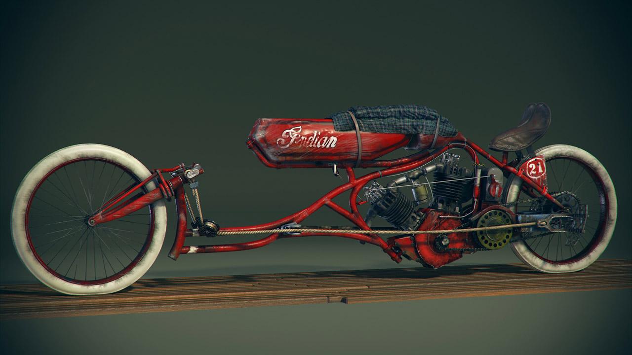 1915 Indian Board Track Bike By Craig Kitzmann 1