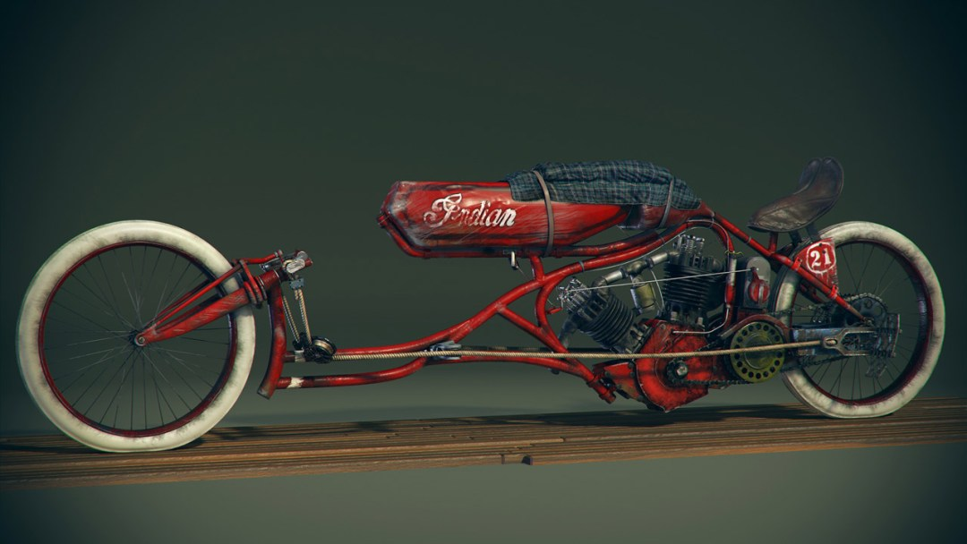 1915 Indian Board Track Bike :: By Craig Kitzmann (1)