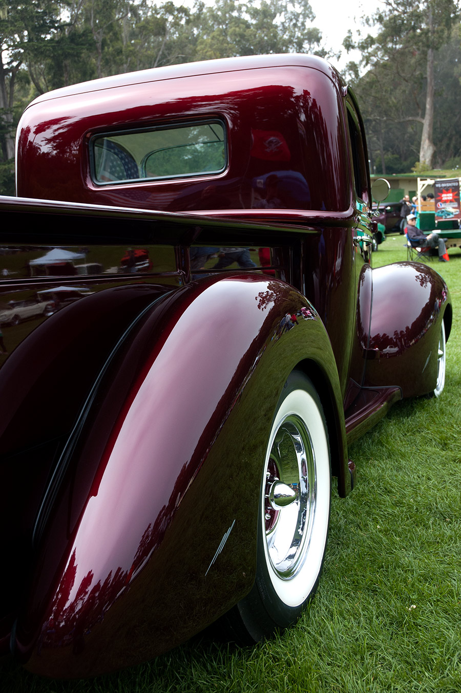 1941 ford pickup interview with owner david posey for New paint car