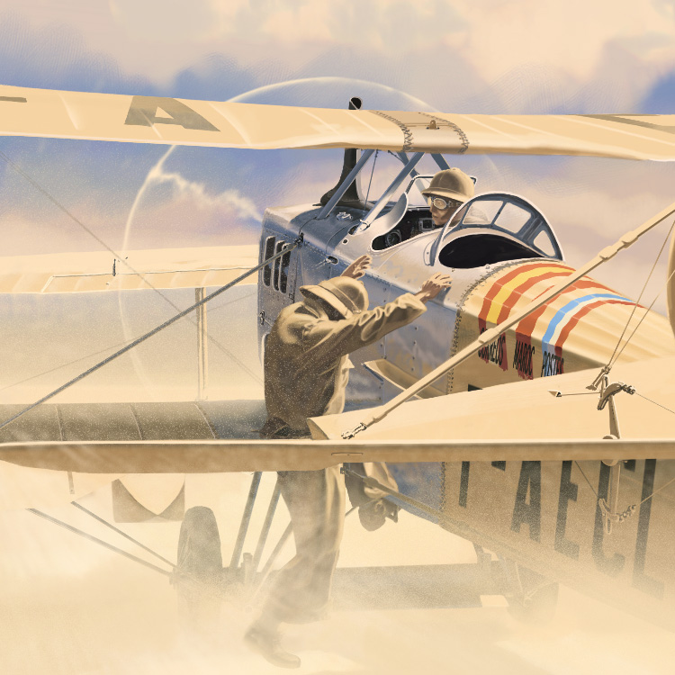 Christophe Gibelin :: Aviation Illustrations
