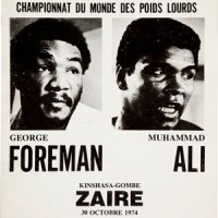 "1974 Ali vs. Foreman ::  ""Rumble in the Jungle"""