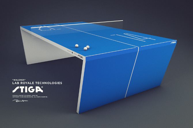 Table Tennis 2.0 :: By Robert Lindström (1)