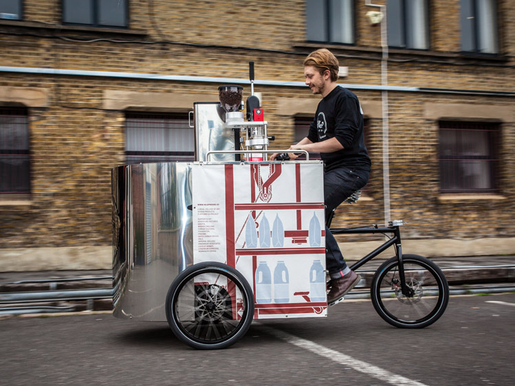 Velopresso :: Pedal Powered Expresso Stand (3)